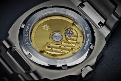 VESUVIATE Doppio caseback - new watch alert