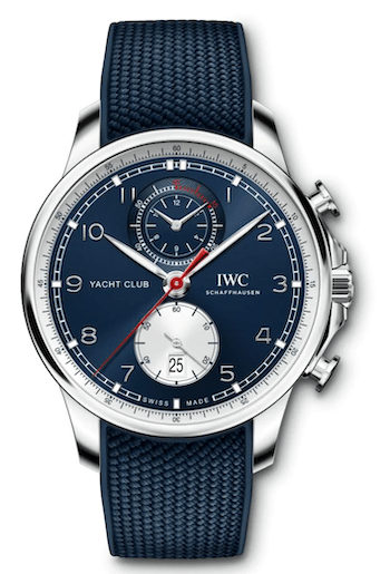new watch alert - IWC Portugieser Yacht Club Chronograph Edition Orlear Brown