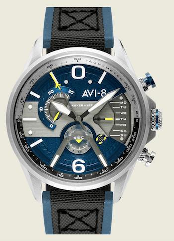 AVI-8 Dual Retrograde Chronograph