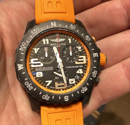Breitling Endurance Pro - bright color watch trends?