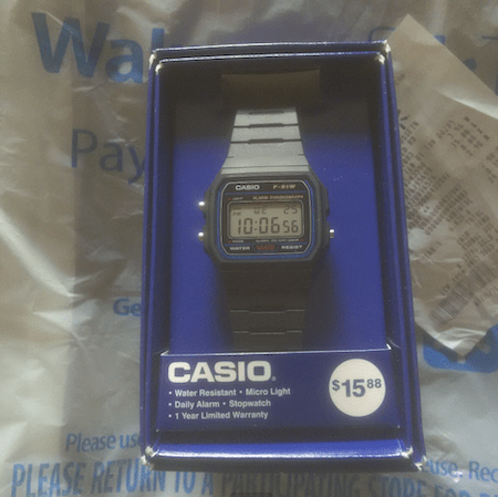Casio in package