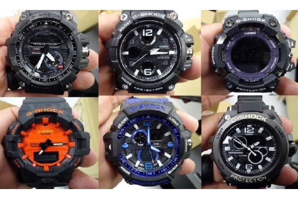 Fake watches - G-SHOCKs