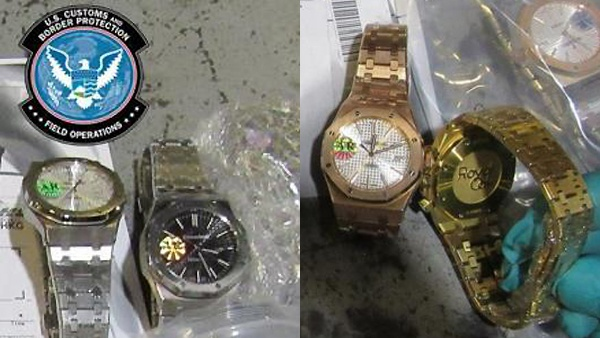 Fake watches - US CBP