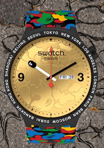 New watch alert - Swatch BAPE