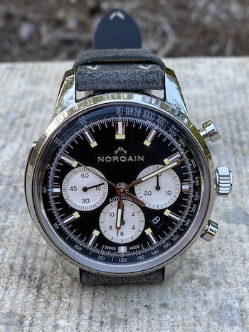 Norqain Freedom 60 Chronograph money shot