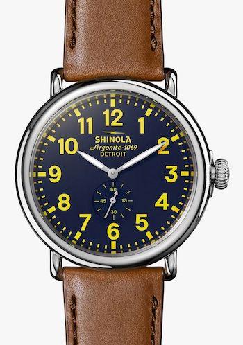 Shinola - watch guide choice for Men's Health