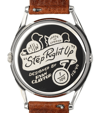 Step Right Up caseback