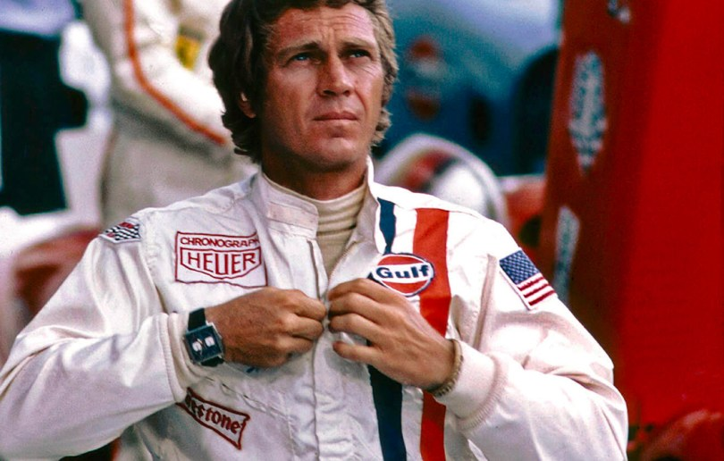Steve McQueen - the patron saint of motor sports watches