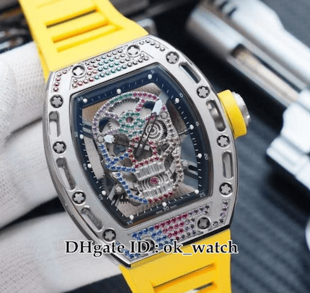 Fake Richard Mille skeleton