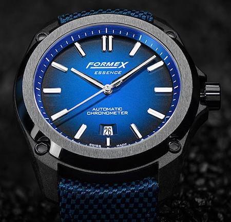 Formex Leggera blue dial