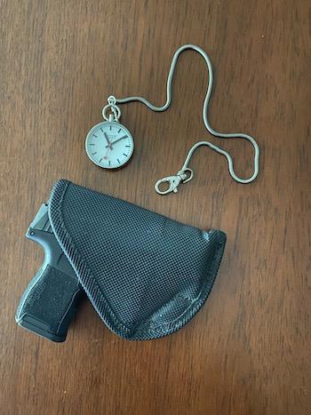 Mondaine EVO pocket watch and SIG