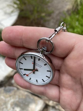 Mondaine EVO pocket watch case
