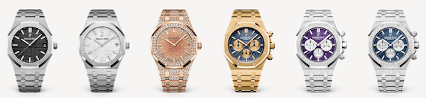 Audemars Piguet Royal Oak variations - the traditional watch industry responds