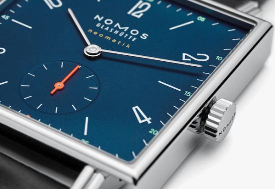 NOMOS square watch