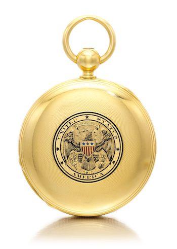 Presidential Gold Lifesaving Award pocket watch 2013