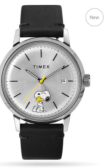 Timex Peanuts gimmick