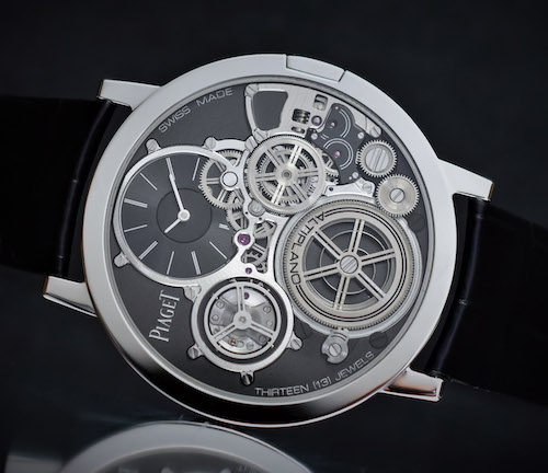 Piaget Altiplano Ultimate Concept on its side