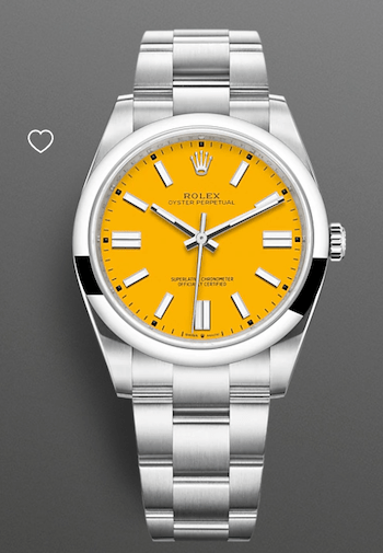 New Oyster Perpetual