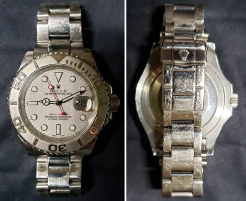 Rolex Service Report - ugly