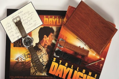 Sylvester Stallone Daylight Panerai