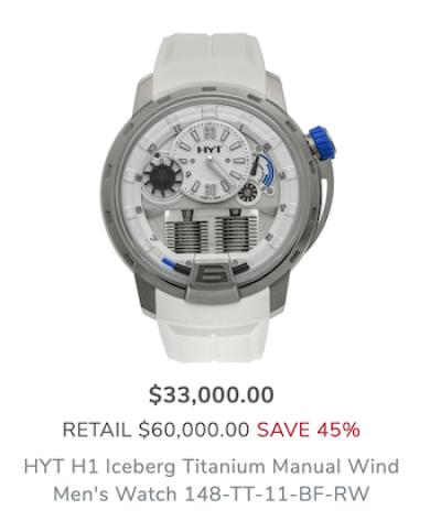 Shopworn depreciation HYT