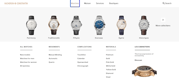 Vacheron authorized dealer - buying starts here
