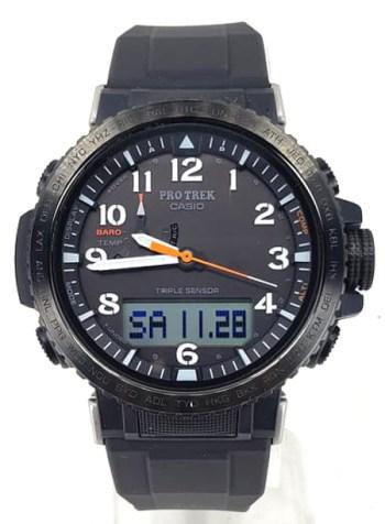 Casio Pro Trek minimalist dial