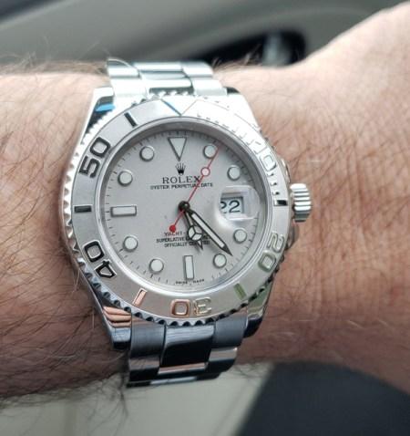 Rolex service - after