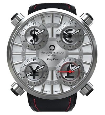Italian watches - Meccaniche Veloci Quattrovalvole Moneymaker