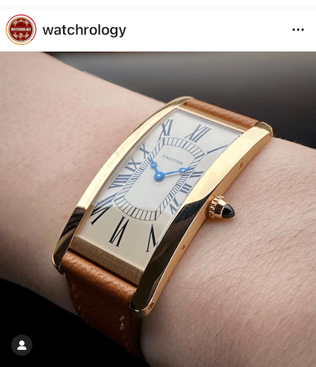 Cartier's new tank - new watch alert
