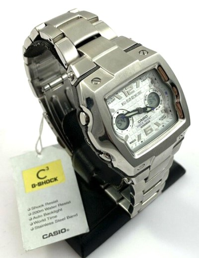 """G-SHOCK G-011D """"Cube"""" with original tag"""