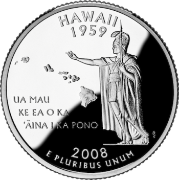 Hawaii state quarter - not a watch collector