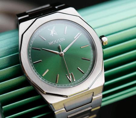 Kickstarter microbrand watches - Moulin