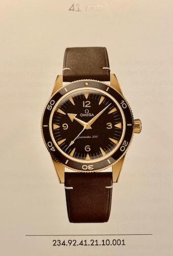 New Seamaster 300 Bronze watch