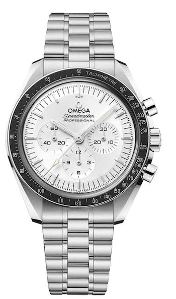 OMEGA Speedmaster Moonwatch Master Chronometer white dial