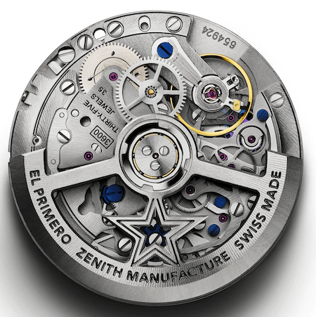 Zenith Chronomaster SPort movement