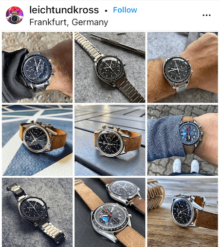 watch collector on parade