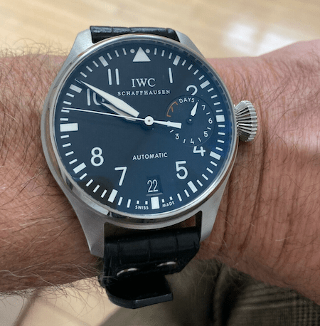 Big watch - IWC Big Pilot