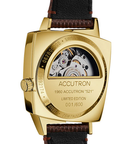 Bulova new watch - Accutron 521 caseback