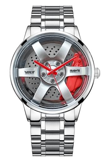 Magnus Silver Steel Street Racing Series - novelty watches