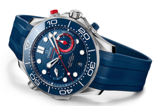 OMEGA Seamaster Diver America's Cup Chronograph