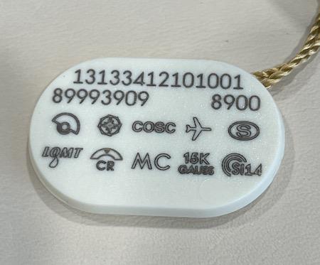 OMEGA price tag