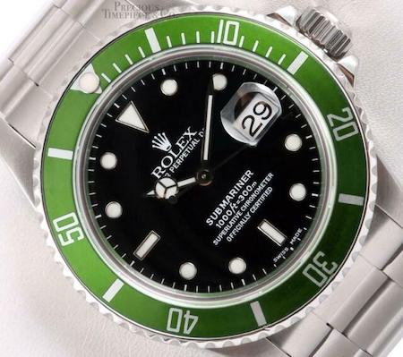 Rolex Hulk - watch theft prevention