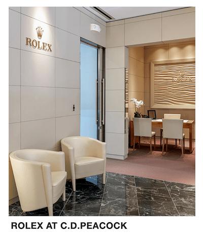 Rolex at C.D. Peacock