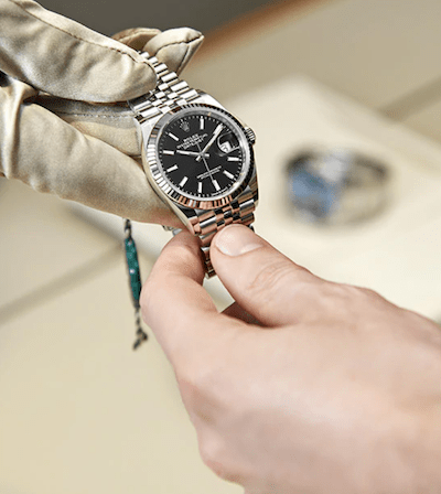 Rolex dealers handoff