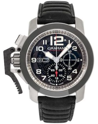 Shopworn Graham Chronofighter Target Chronograph Automatic