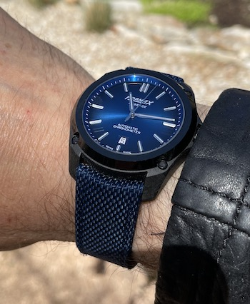 Formex Essence Leggera Electric Blue leather