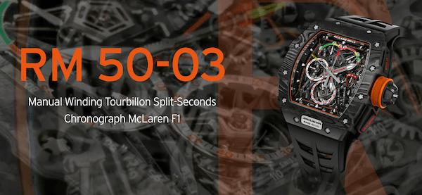Richard Mille McLaren F1