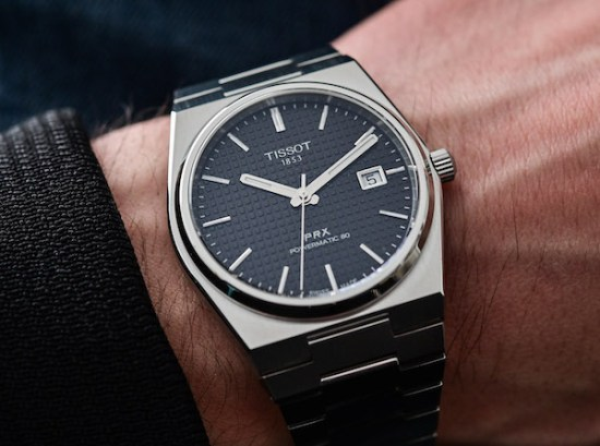 TISSOT Powermatic 80 on wrist