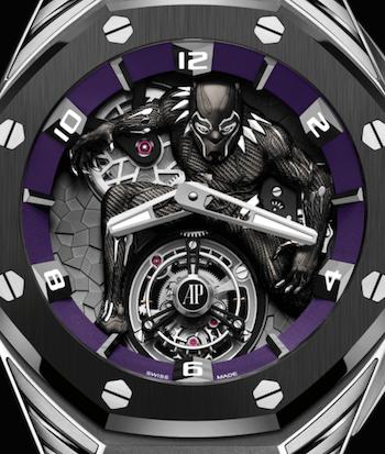 Audemars Piguet Marvel watch - Black Panther